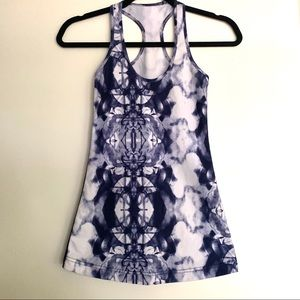LULULEMON Ink Blot Deep Indigo Cool Racerback
